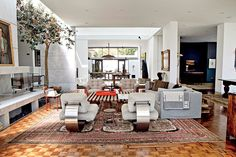 Ellen DeGeneres New Interior Design Book Home | Hal Levitt designed Trousdale Estates house.