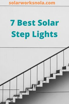 The steps do not only ad décor to our homes and parks but also protect us from accidents. Wired lights are not suitable for steps and battery lights often stop working after a while. In this condition, solar lights are ideal. Our aim is to make you aware of the best solar step lights so you can install them in your home or any other area.  #solarsteplights #solarlights #solarworksnola #steplights #homedecor #ideas Solar Step Lights, Battery Lights, Solar Products, Diy Products, Stop Working, Diy Solar, Solar Panels, Outdoor Lighting, Parks