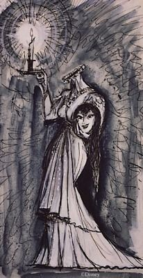 Concept art for The Haunted Mansion