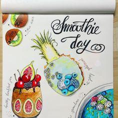 Smoothie Day! Artwork @dancelovedraw Smoothie, Jar, Artist, Artwork, Inspiration, Biblical Inspiration, Work Of Art, Auguste Rodin Artwork, Artists
