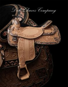 Dale Chavez Company Inc. Custom saddles, silver halters and awards buckles.