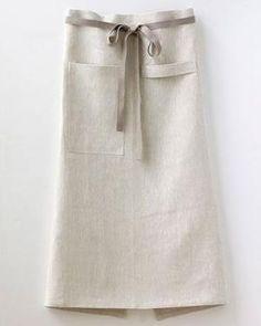linen cafe apron by diann