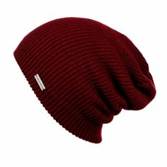 - Description - Specs - Washing - Mens Slouchy Beanie - The Forte beanie comes in a traditional stitch pattern that is worn slouchy and oversized. This medium weight slouchy beanie is embellished with