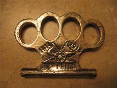 1918 knuckle brass knuckles