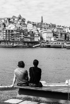 Couple by the river by Pedro Gaspar  | #portugal #porto