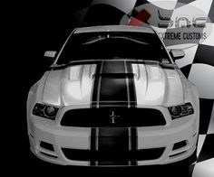 2013 2014 #Ford #Mustang Supercharged Mongoose Hood