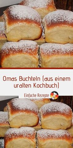 Grannies Buchteln (from an ancient cookbook) Sprainnews recipes backen backen rezepte bread bread bread Easy Cheesecake Recipes, Cake Mix Recipes, Easy Cookie Recipes, Baking Recipes, Chocolate Cake Recipe Easy, Chocolate Cookie Recipes, Chip Cookie Recipe, Food Cakes, Cookies Et Biscuits