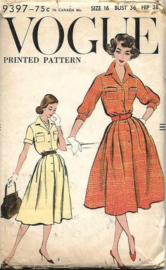 459d588708d Shirt Dress Pattern
