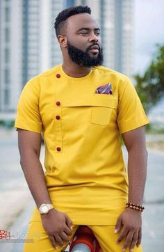 African clothing, African men's clothing, African fashion, wedding suit, dashiki… - Gifted. Latest African Wear For Men, African Shirts For Men, African Dresses Men, African Attire For Men, African Clothing For Men, Latest African Fashion Dresses, Couples African Outfits, Ankara Fashion, African Women