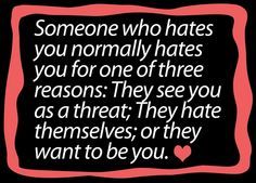 And I've dealt with all three types... http://media-cache3.pinterest.com/upload/106538347405012094_8fLrPl2y_f.jpg chasing11 my philosophy on life 3