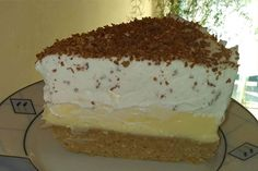 Nepečená gaštanová torta - Mňamky-Recepty.sk Cake Recipes, Dessert Recipes, Banana Cream, Cream Pie, Bon Appetit, Vanilla Cake, Delish, Cheesecake, Deserts