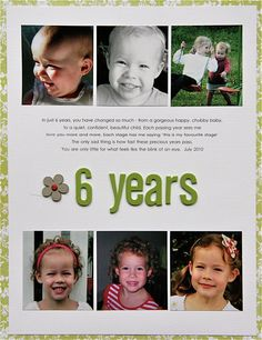 'lots of photos' layouts - Scrapbooking Layouts by Nicole S