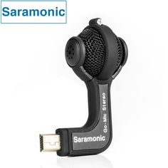 Saramonic GoMic Gopro Accessories Professional Mini Stereo Ball Microphone for Gopro Hero 4 3+ 3 Cameras