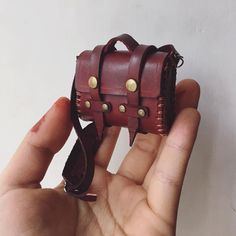 BJD1/6 yosd blythe leather shoulder bag by Addictiya on Etsy
