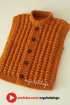 Let's learn together your own fashion accessories, basic and other creative points, techniques and tips to learn or develop the art of crochet and kni. Baby Cardigan, Baby Pullover, Sweater Jacket, Tricot Baby, Viking Tattoo Design, Baby Sweaters, Baby Knitting Patterns, Down Hairstyles, Travel Size Products