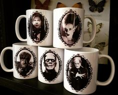 Best classic monsters mugs.