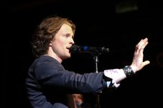 Singer Austin Brown of Home Free performs at 'The SingOff' Live Tour at House of Blues Sunset Strip on March 29 2014 in West Hollywood California