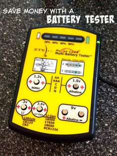 Save Money with a Battery Tester