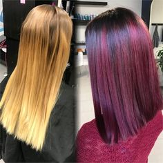 Ready For A Change: Grown Out Sombre To Dimensional Raspberry - Hair Color - Modern Salon