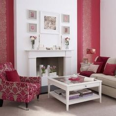 Can you say holy amazing pink!?! It's the perfect touch of my favorite color in this room.