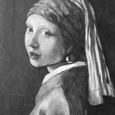 My rendition of the Girl with the Pearl Earring