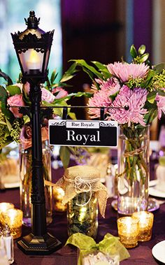 Paris theme centerpieces centerpieces pinterest paris theme disneyland wedding spotlight jen justinever after blog disney fairy tale weddings and honeymoon paris themed junglespirit Image collections