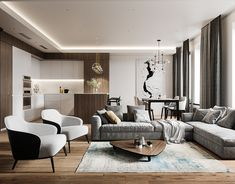 Modern glamour (home tour) living room lighting design, modern living room Apartment Interior, Home Interior, Living Room Interior, Interior Design Living Room, Living Room Designs, Interior Modern, Luxury Interior Design, Scandinavian Interior, Beautiful Living Rooms