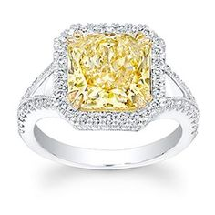 okay not realistic but very pretty ct radiant diamond ring via costco - Costco Wedding Rings