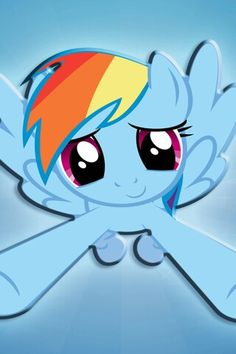 Rainbow Dash Close Up It Looks Good On A Lock Screen Cute Girly