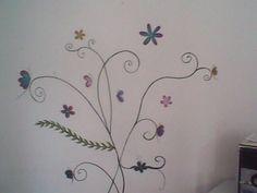 Flores Pinceladas en la Pared @vendogratis  mi Tia @olraoch vende estos..