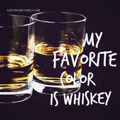 There's truly nothing as beautiful as a tall glass of whiskey staring back at you.