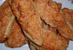 Pečené plněné papriky III. - Recepty.cz - On-line kuchařka Bacon, Pork, Treats, Chicken, Breakfast, Red Peppers, Kale Stir Fry, Sweet Like Candy, Morning Coffee