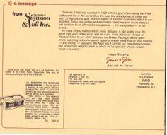 1983 Fall Catalog page 3 #loosetea #svtea http://www.svtea.com/