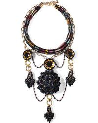Lulu Frost | Josephine Collage Necklace | Lyst
