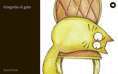 Gregorio el gato - online story for practicing preterit and imperfect, with illustrations.