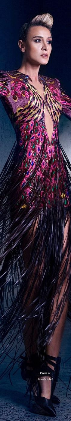 Nicolas Jebran Couture Fall-winter 2015-2016
