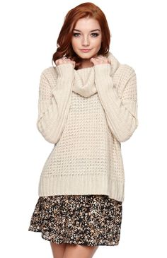 I want to see if i can pull this off; pullover sweater over dresses for fall