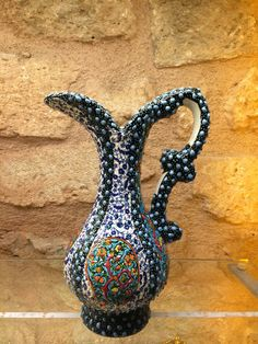 HANDMADE+CERAMIC+PITCHER,+TURKISH+CERAMICS,