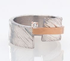 Balancing by Dagmara Costello: Silver and Stone Ring available at www.artfulhome.com