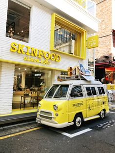 The Skinfood Flagship store In Garosugil, Sinsa (Seoul, South Korea)