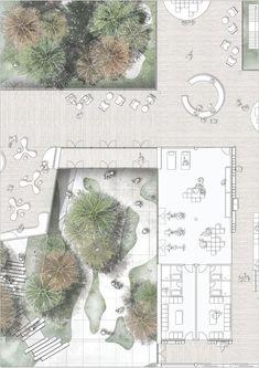 Copenhagen Diabetes City plan. Landscape idea. #landscape #plan #architecture #arquitetura #vegetação #paisagismo #ADS