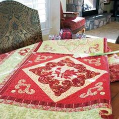 Feathered Flourish quilt pattern. Celebrate by marcellassewing