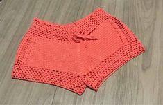 Short de crochê: como fazer, ideias e modelos – Artesanato Passo a Passo!