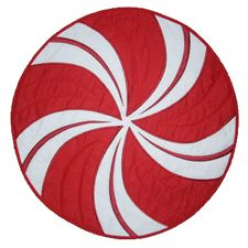 PEPPERMINT QUILTED PLACEMAT