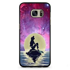 Ariel The Little Mermaid Moon Phonecase Cover Case For Samsung Galaxy S3 Samsung Galaxy S4 Samsung Galaxy S5 Samsung Galaxy S6 Samsung Galaxy S7