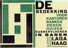 Piet Zwart, advertisement for the Laga Company, 1923.