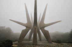 SPOMENIK statues (ww2 memorial art), former Yugoslavia