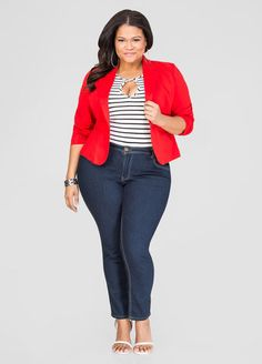 Casual Friday Outfit by Ashley Stewart