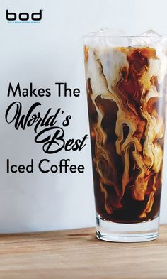 Makes the World's Best Iced Coffee. I want a BOD by BodyBrew to make my own cold brew coffee! Best Iced Coffee, Great Coffee, My Coffee, Coffee Girl, Black Coffee, Coffee Plant, Coffee Cafe, Coffee Drinks, Coffee Barista