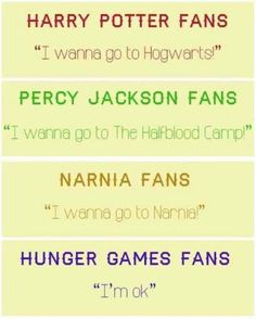 A Creative Cookie: Friday Funnies {2}. Hunger Games. HP. Narnia.